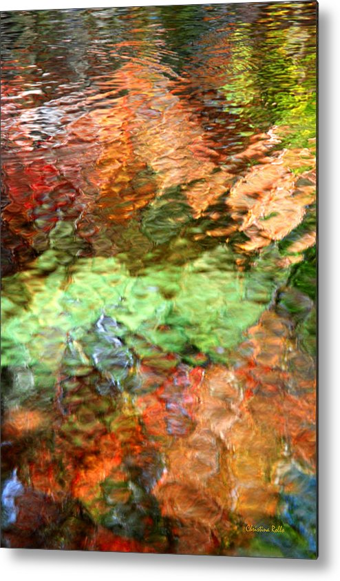 Abstract Water Metal Print featuring the photograph Brilliance by Christina Rollo