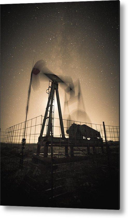 Kansas Metal Print featuring the photograph Carbon Footprint #3 by Patrick Weldon