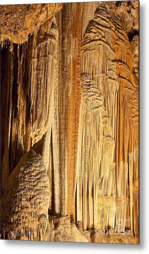 Cave Metal Print featuring the photograph Cave Details by Brandon Alms