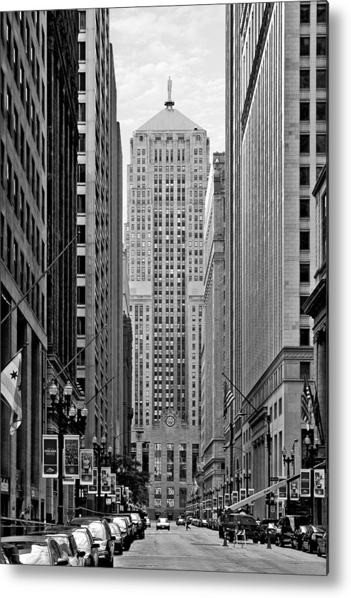 Cbot Metal Print featuring the photograph Chicago Board Of Trade by Christine Till