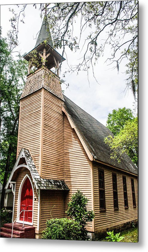 Church Metal Print featuring the photograph Church Of Atonement by Steven Taylor