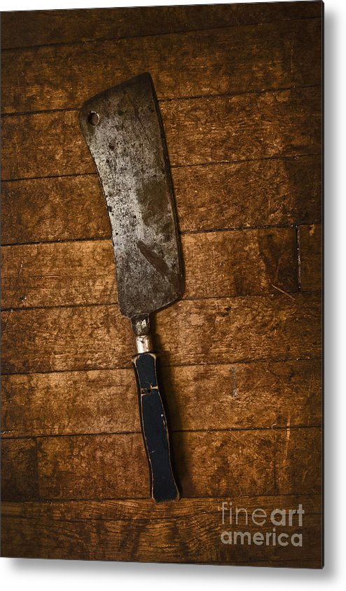 Cleaver Metal Print featuring the photograph Cleaver by Margie Hurwich