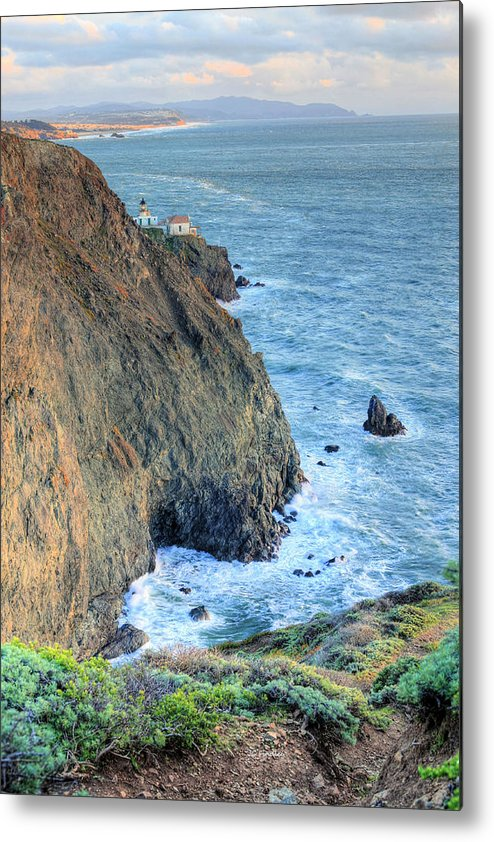 Bonita Point Metal Print featuring the photograph Cliffs by JC Findley