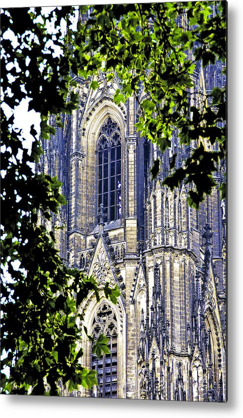 Germany Metal Print featuring the photograph Cologne Cathedral by Dennis Cox