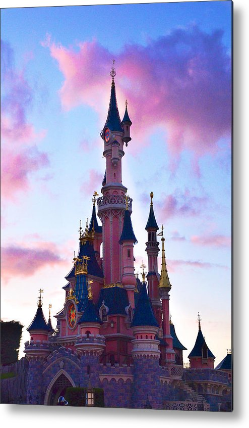 Clouds Metal Print featuring the photograph Disney Dream by Catherine Murton