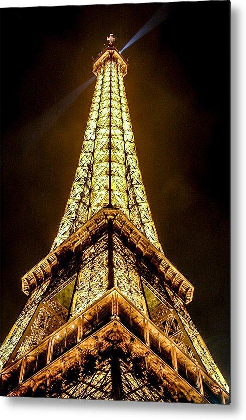 Eiffel Tower Metal Print featuring the photograph Eiffel Tower Four by Josh Whalen