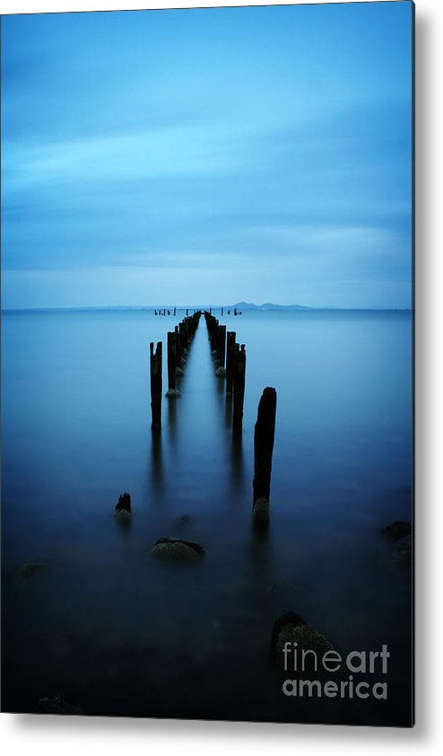 Landscape Metal Print featuring the photograph Eternal by Simone Byrne Photography