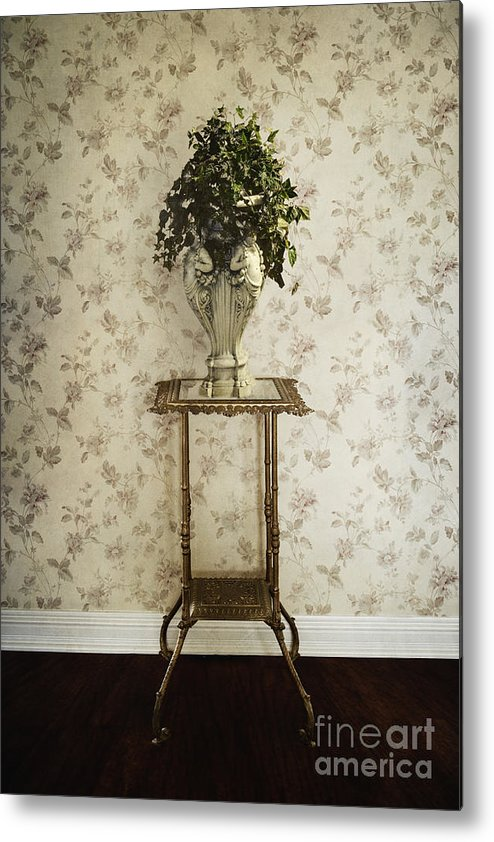 Plant Metal Print featuring the photograph Foyer Living by Margie Hurwich
