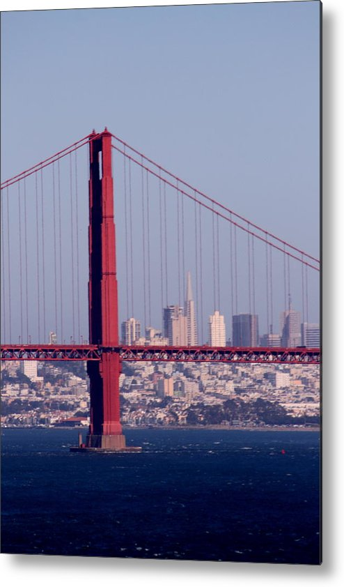 California Metal Print featuring the photograph Gate To The City by Nick Busselman