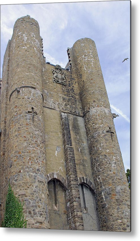 Hammond Castle Metal Print featuring the photograph Hammond Castle Detail II by Suzanne Gaff