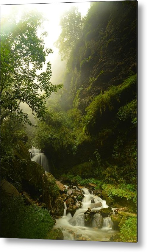 Landscape Metal Print featuring the photograph Heaven Calling by Aaron Bedell