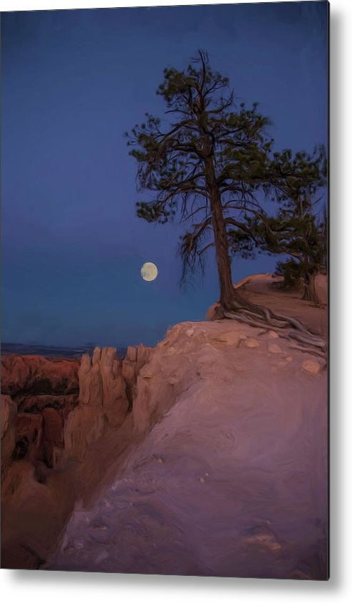 Painted Effect Metal Print featuring the photograph Inspired by Nichon Thorstrom