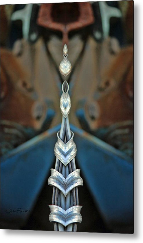 Kaleidoscope Metal Print featuring the photograph Jewels by Sylvia Thornton