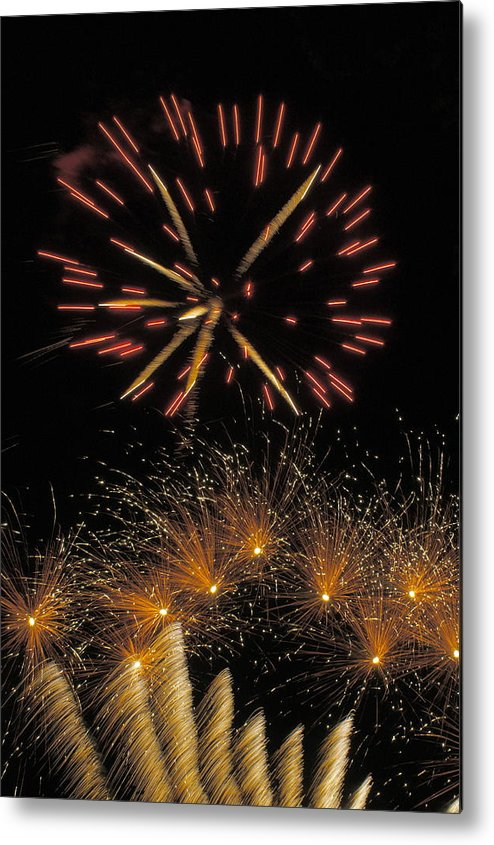 July 4 Metal Print featuring the photograph July 4 Independence Day Usa by Blair Seitz