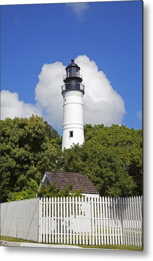 Key West Metal Print featuring the photograph Key West Lighthouse by John Stephens