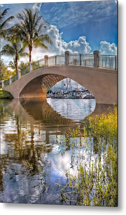 Boats Metal Print featuring the photograph Keyhole by Debra and Dave Vanderlaan