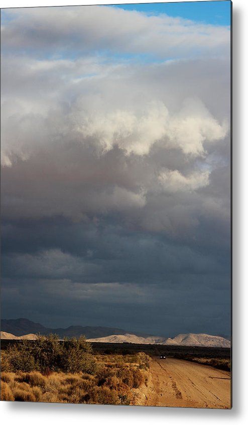 Light Metal Print featuring the photograph Light And Shadows by Valerie Loop