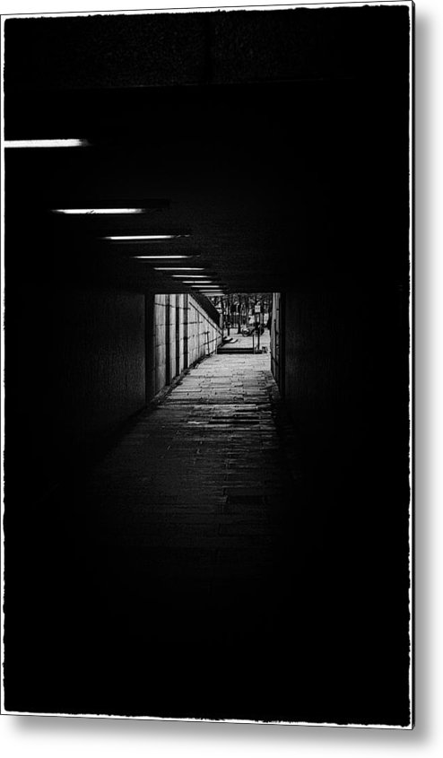 Bridge Metal Print featuring the photograph London Tunels 1 by Lenny Carter