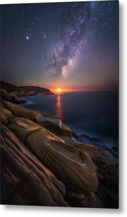 Landscape Metal Print featuring the photograph Lonely Planet by Tim Fan