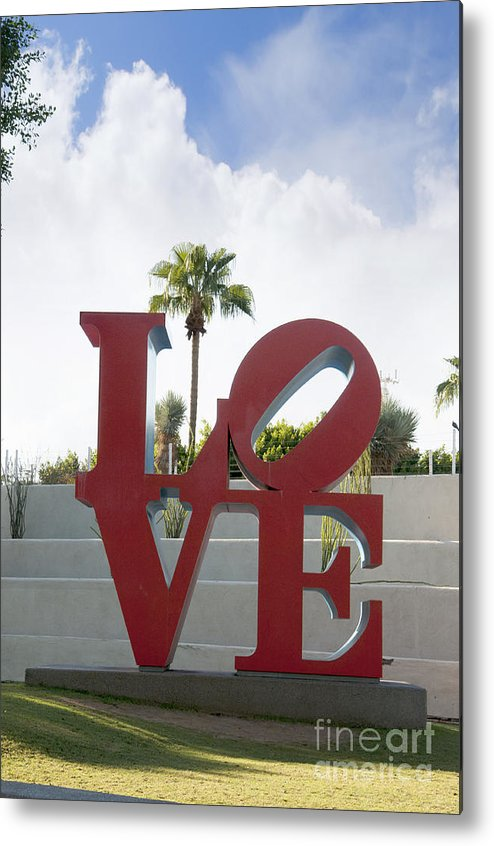 Scottsdale Metal Print featuring the photograph Love In A Summer Landscape by Brenda Kean