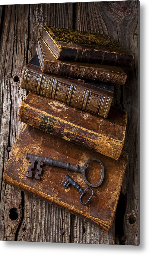 Key Metal Print featuring the photograph Love Reading by Garry Gay