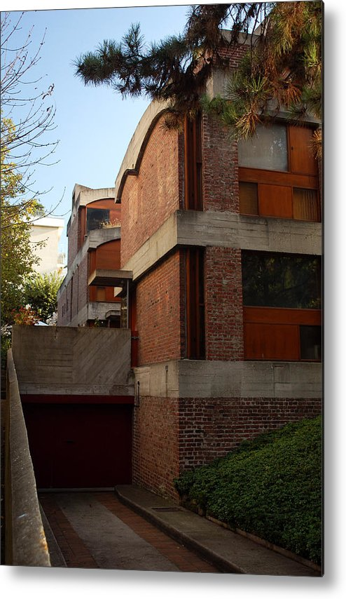 Architecture Metal Print featuring the photograph Maisons Jaoul - Le Corbusier by Peter Cassidy