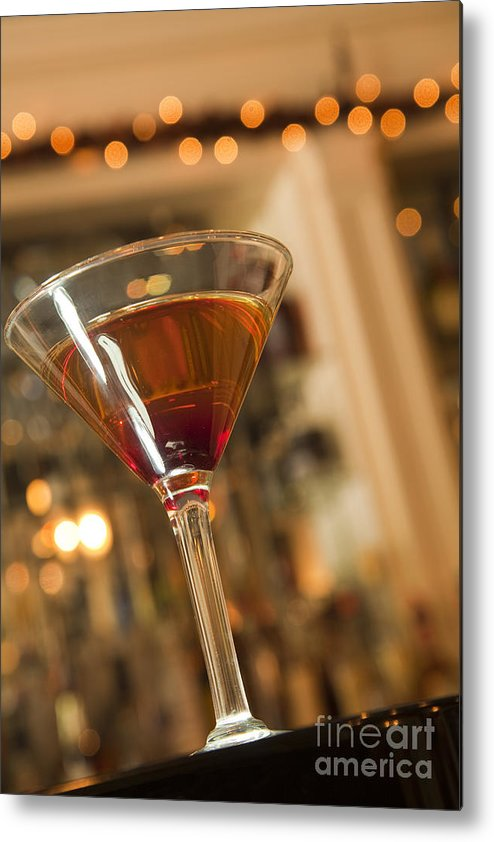 New Orleans Metal Print featuring the photograph Martini by New Orleans Food