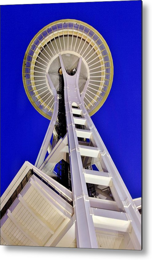 Space Metal Print featuring the photograph Meet Me At The Needle by Benjamin Yeager