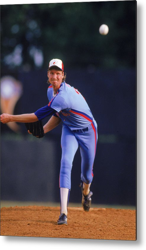 1980-1989 Metal Print featuring the photograph Mlb Photos Archive by MLB Photos