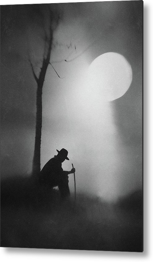 Man Metal Print featuring the photograph Monologue by Jay Satriani