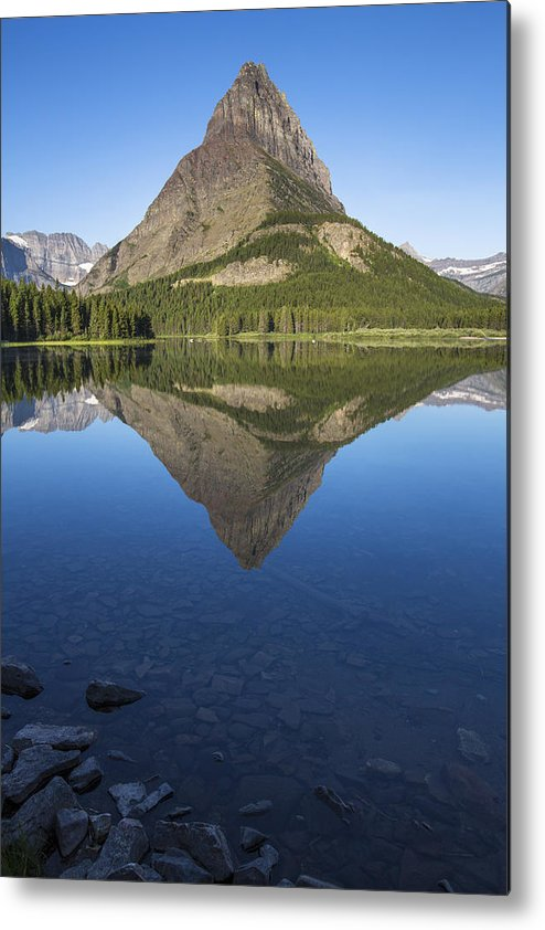 Gould Metal Print featuring the photograph Mt Grinnell by Ross Murphy