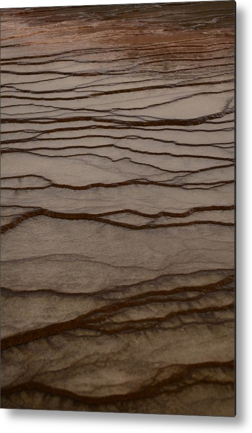 Yellowstone Park Metal Print featuring the photograph Natural Patterns by Deann Brice