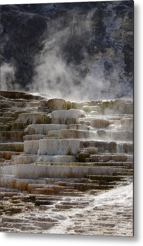 Rocks Metal Print featuring the photograph Nature's Sauna by Deann Brice