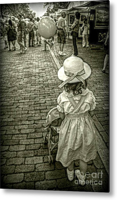 Children's Room Metal Print featuring the photograph Off We Go by Valerie Reeves