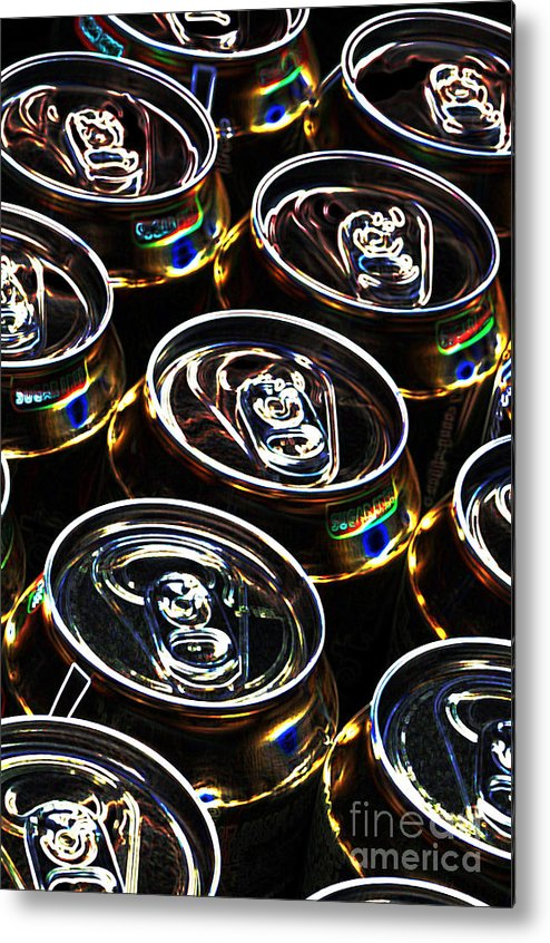 Aluminum Metal Print featuring the digital art On The Pull by Wendy Wilton
