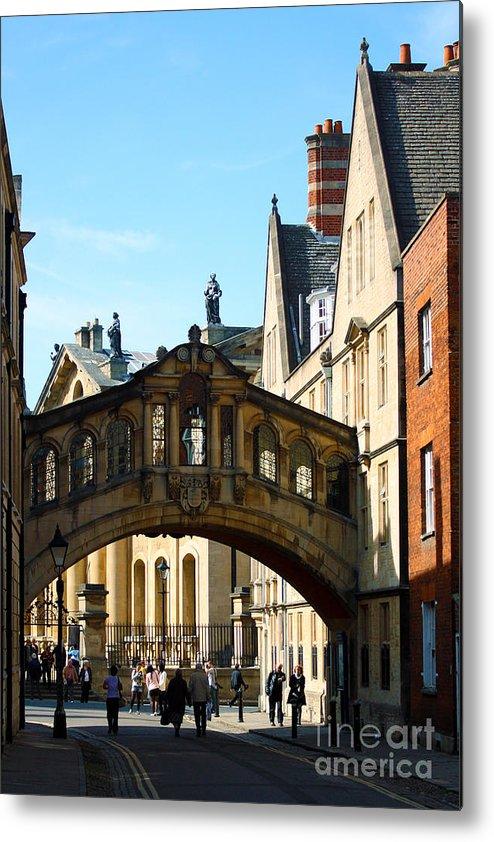 Oxford Bridge Metal Print featuring the photograph Oxford Bridge Of Sighs by Terri Waters
