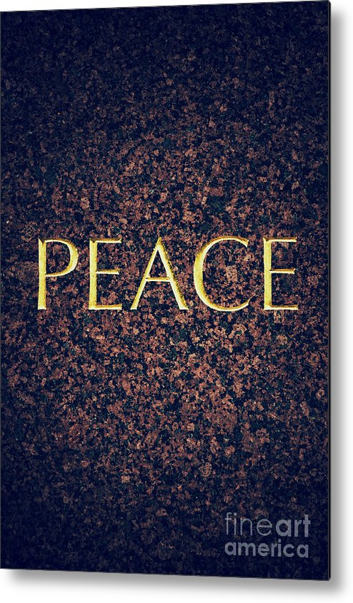 Peace Metal Print featuring the photograph Peace by Tim Gainey