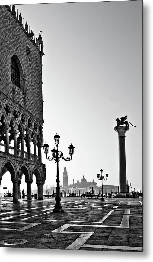 Italy Metal Print featuring the photograph Piazza San Marco by Marion Galt