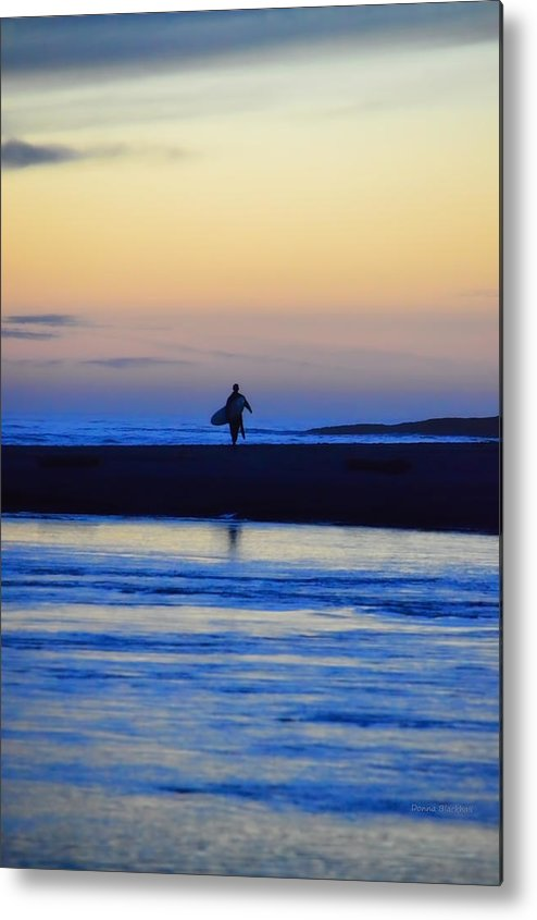 Surf Metal Print featuring the photograph Played Out by Donna Blackhall