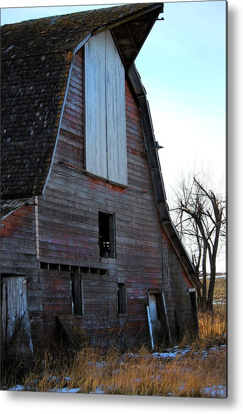 Barn Metal Print featuring the photograph Red Barn by Tammy Grubbs