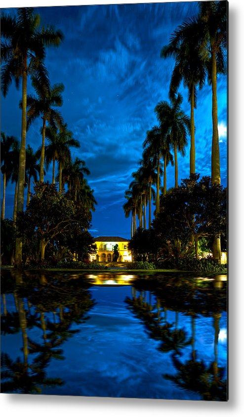 Landscape Metal Print featuring the photograph Reflections Of Grandeur by Mark Andrew Thomas