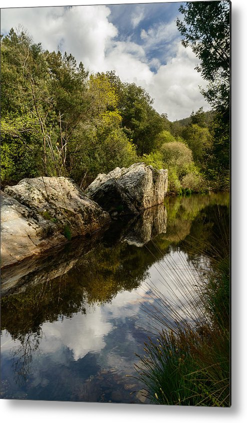 River Metal Print featuring the photograph River Reflections II by Marco Oliveira