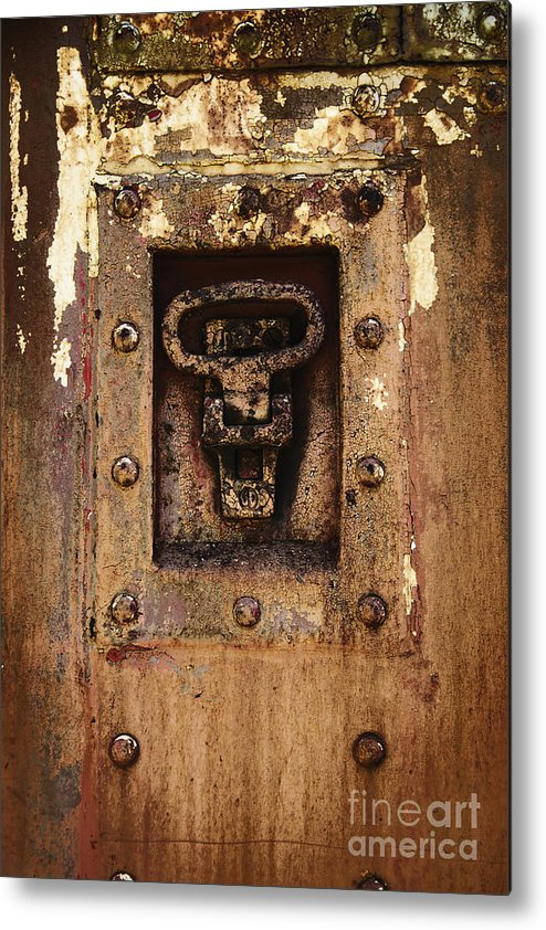 Wall Metal Print featuring the photograph Rust by Margie Hurwich