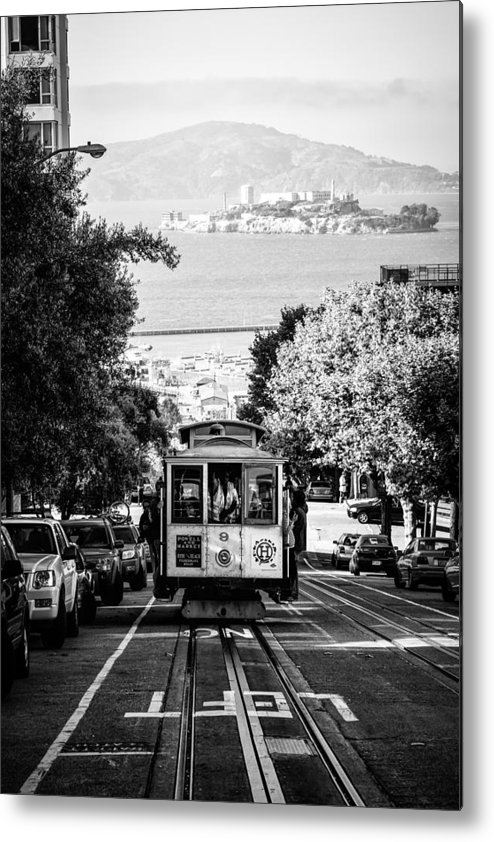 San Francisco Metal Print featuring the photograph San Francisco Streets by Mos-Photography