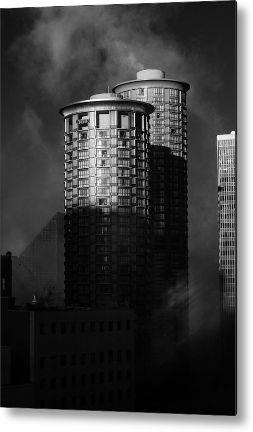 Montana Metal Print featuring the photograph Seattle Towers by Paul Bartoszek