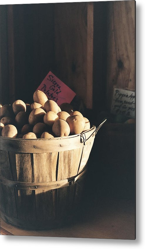 Potatoes Metal Print featuring the photograph Sierra Gold by Caitlyn Grasso