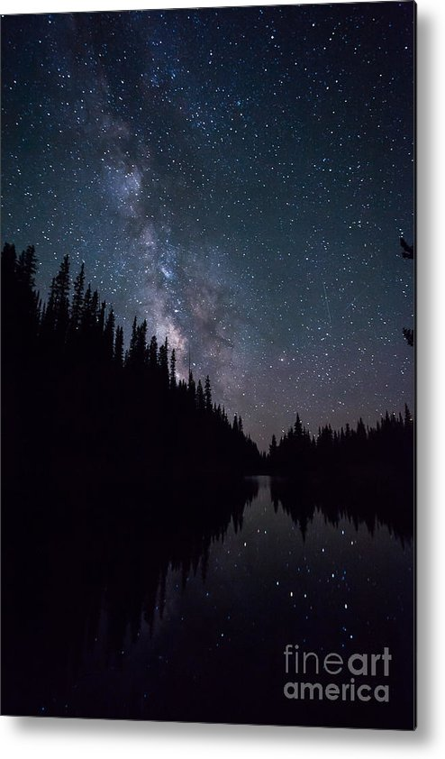 Lake Irene Metal Print featuring the photograph Stars On The Lake by Ray K