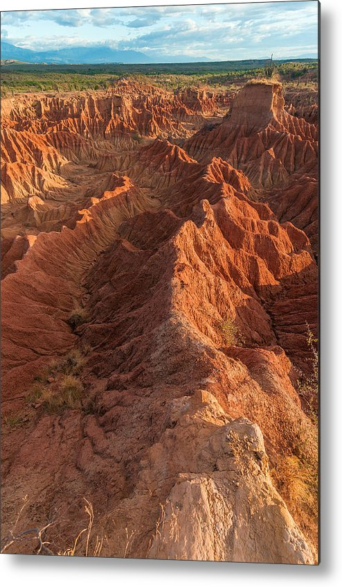 Desert Metal Print featuring the photograph Stunning Red Rock Formations by Jess Kraft