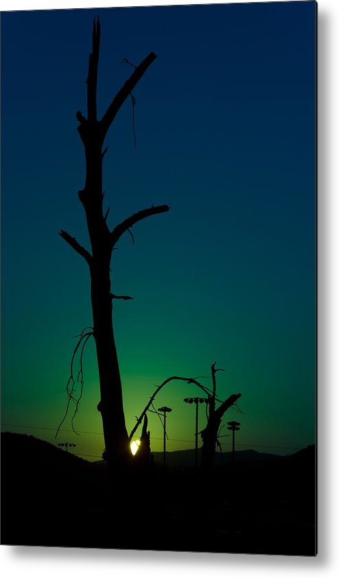 Sunrise Metal Print featuring the photograph Sunrise 1 by Christian Schroeder