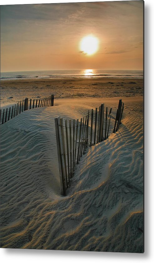 Outer Banks Prints Metal Print featuring the photograph Sunrise Over Hatteras by Steven Ainsworth